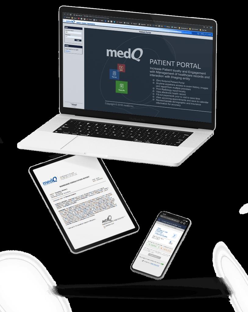 Qris Patient Portal Mockup